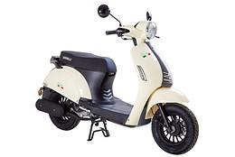 EU Klass 1 Scooter Viarelli Venice Creme 45km/h