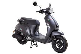 EU Klass 1 Scooter Viarelli Venice Svart 45km/h