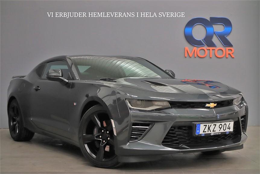 Chevrolet Camaro SS V8 / Hud / Svensksåld / Lågskatt / 461hk