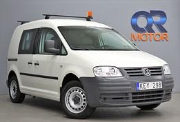 Volkswagen Caddy 2.0 EcoFuel / Inredning / Drag 109hk