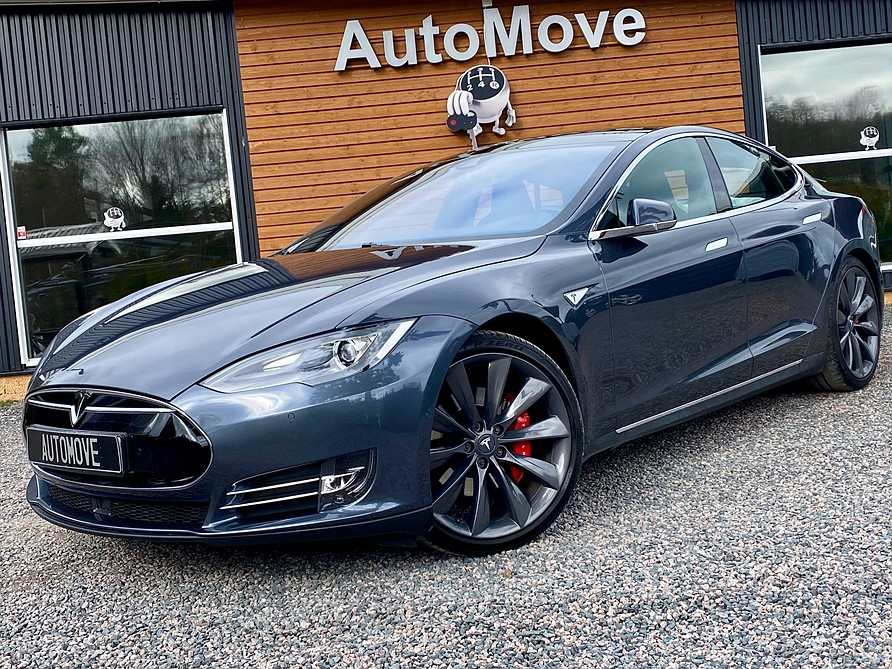 Tesla Model S P85D INSANE+ (738hk)