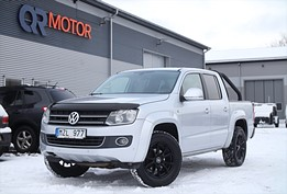 VW Amarok 2.0 TDI 4motion Flakbåge (180hk)