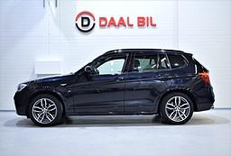 BMW X3 20D 190HK M-SPORT XDRIVE PANO BMWSERV.