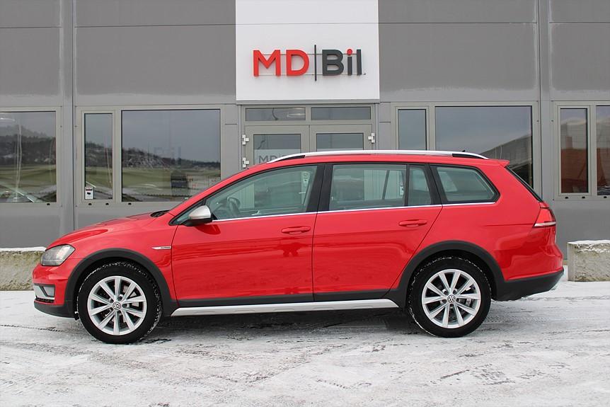Volkswagen Golf Alltrack 2,0TDI 184hk 4M Momsbil Drag Värmare Pluspaket