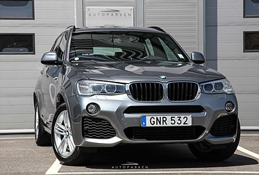 BMW X3 20d X-Drive 190hk M-Sport Panorama