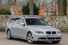 BMW 530xi Touring Aut / Navi / Sv-såld